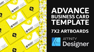 Gambar cover Business Card Design Template - Affinity Designer Tutorial