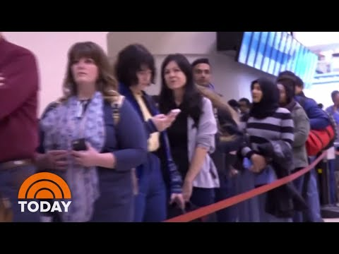 Government Shutdown Leads To Massive Airport Security Lines | TODAY