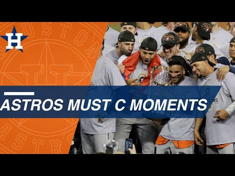 Must C: Top Moments Of Astros' 2017 Title Run