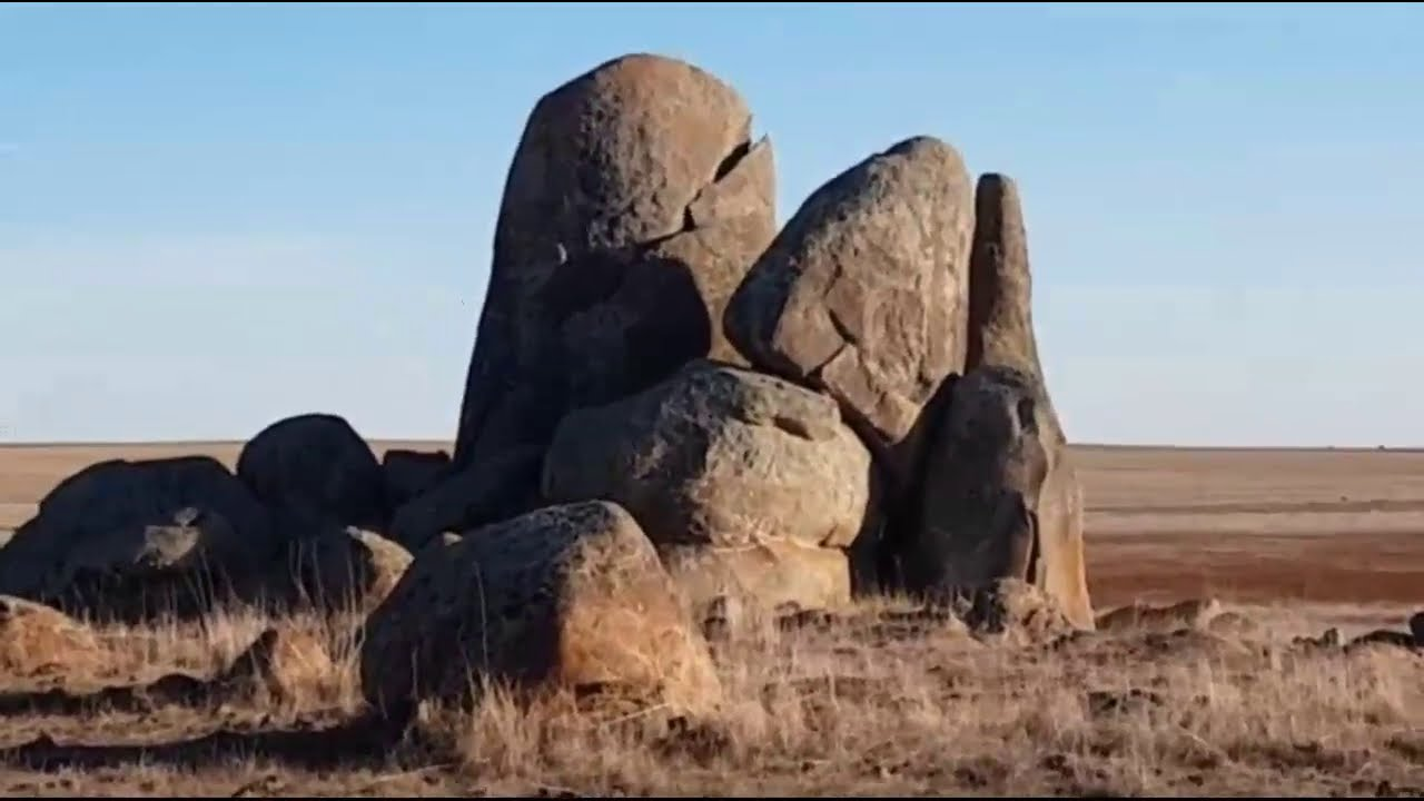 Many People Believe That These Boulders are the Remains of Titans & Giants That Once Roamed Eart