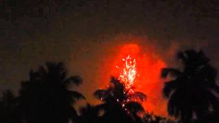 Fireworks during Kalipuja and Diwali at Kolkata