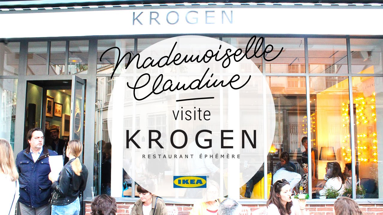 krogen restaurant ph m re ikea paris visite de mademoiselle claudine youtube. Black Bedroom Furniture Sets. Home Design Ideas