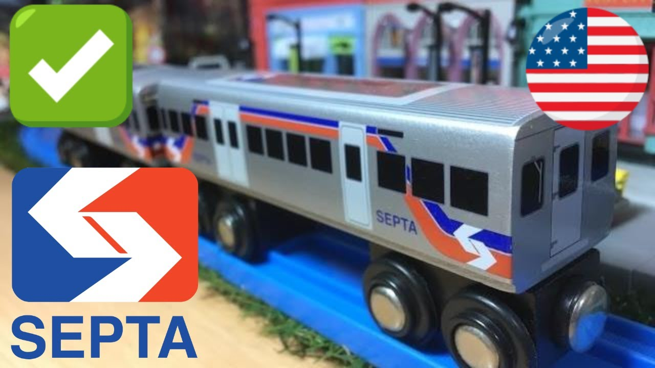 Septa Silverliner V Munipals Wood Trains 03965