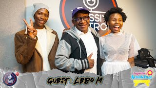 Lebo M talks the iconic Lion King; life in exile, living in America & more on #LegendaryBreakfast