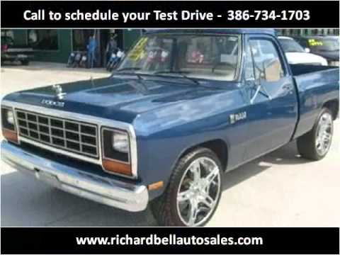 1983 Dodge RAM 150 Used Cars Deland FL