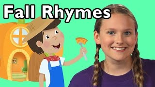 Peter, Peter, Pumpkin Eater and More Rhymes About Fall   Nursery Rhymes from Mother Goose Club!