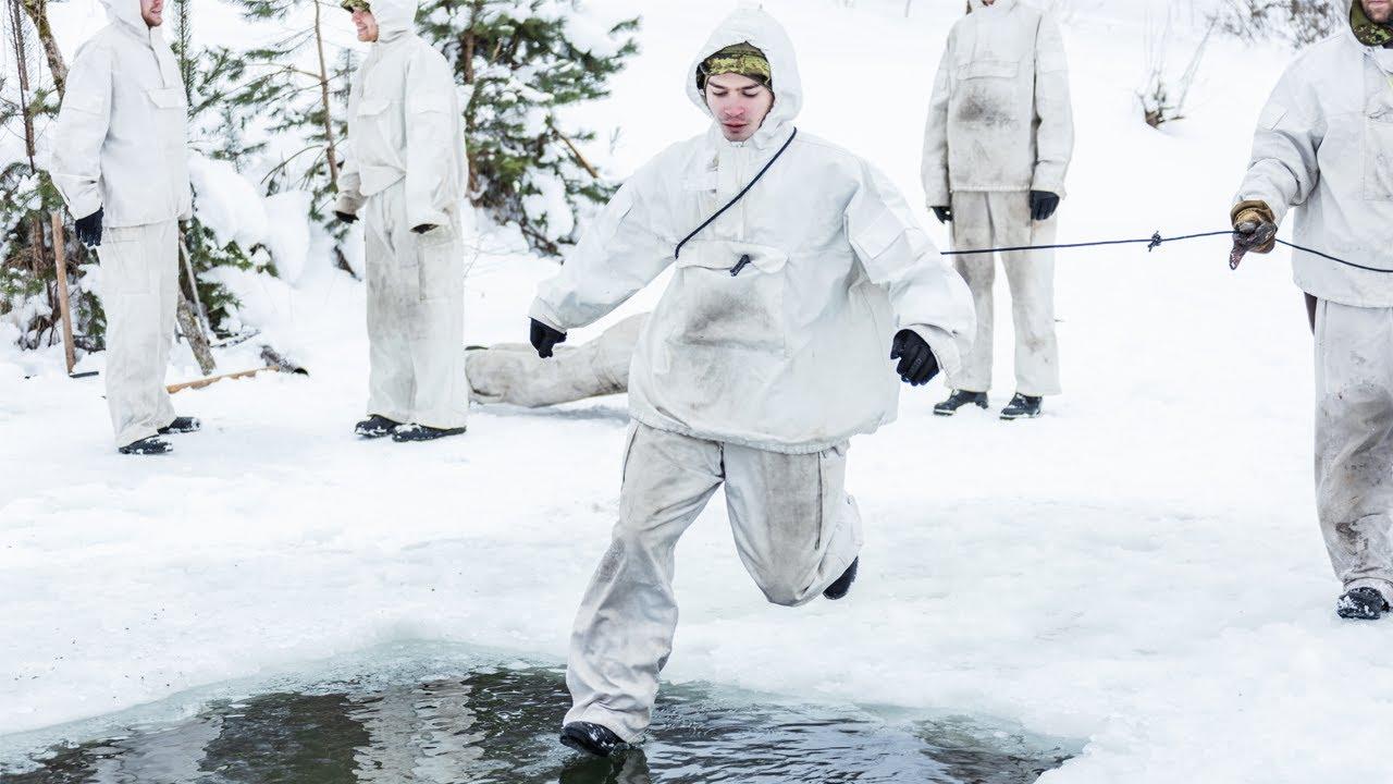 Ajateenijad harjutasid talviseid ellujäämisoskuseid