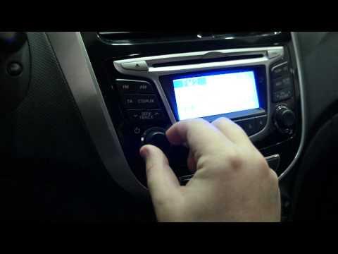 Hyundai Solaris Красный Comfort вид внутри
