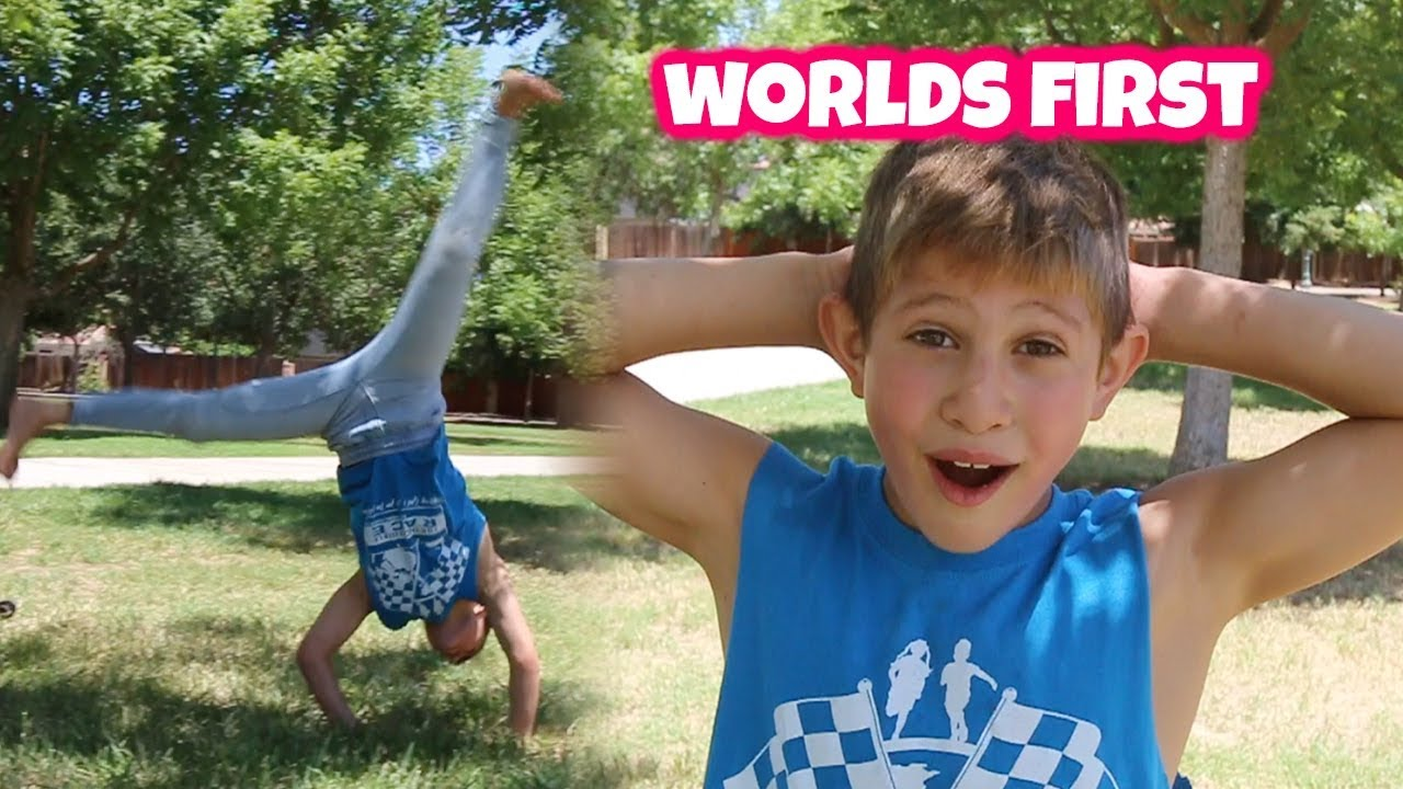 9 YEAR OLD BREAKING A WORLDS YOUNGEST RECORD!!