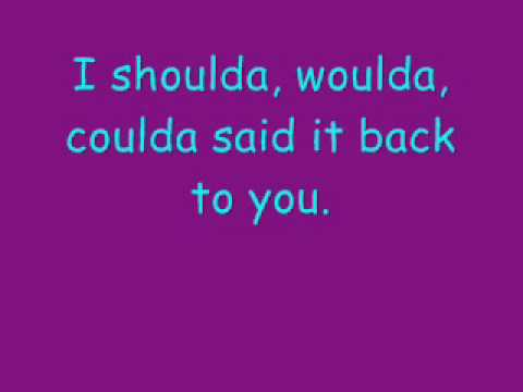 Shoulda by Hinder(with lyrics)