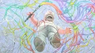 Ron English Paints High-Speed Homer Simpson/ Jackson Pollock