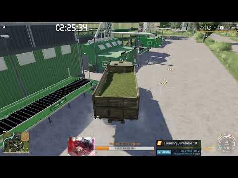Farming Simulator 19. Пос. Новотроицкий. #28. Карта, деньги, два стога.