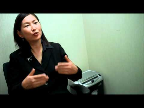 Oyuna from Mongolia describes her Eisenhower Fellowship.wmv