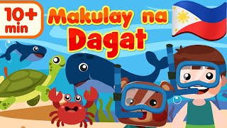 Makulay na Dagat | Flexy Bear Originals Compilation | Awiting Pambata