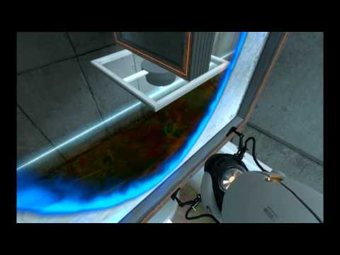 Let's Play ♦ Portal [08] - 4000 Degrees Kelvin and the Cake is a Lie