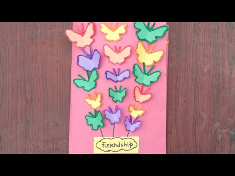 Specially for friendship Day || very easy multipurpose greeting card idea☺☺