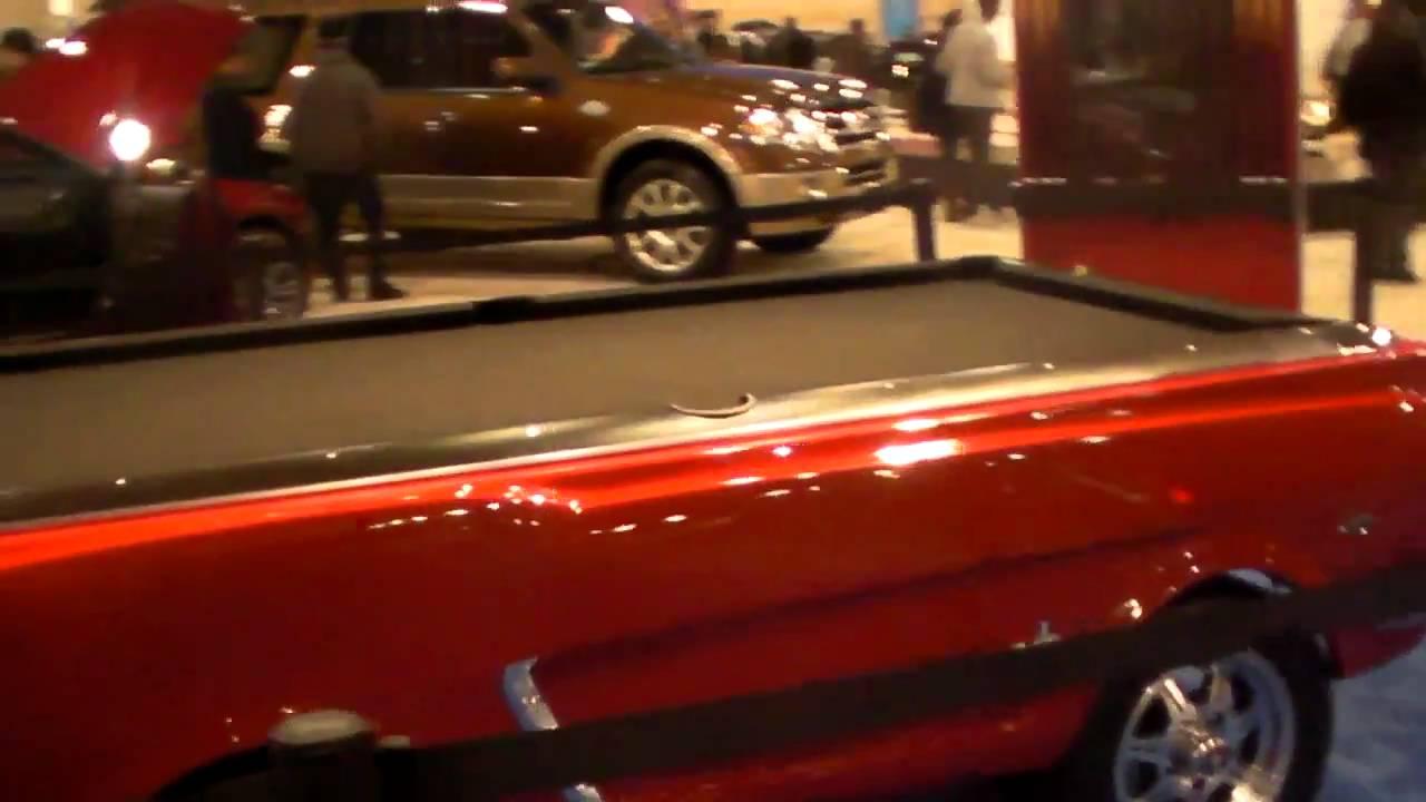 64 1/2 Mustang Pool Table