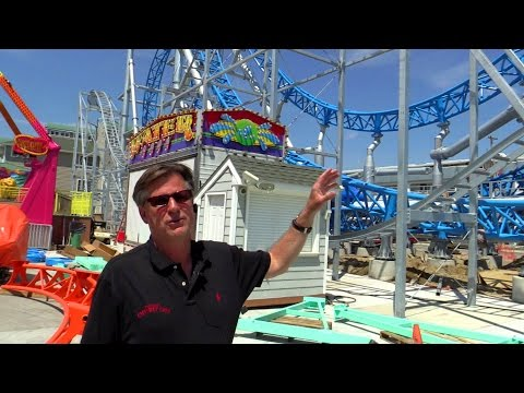 GaleForce construction - Scott Simpson interview at Playland's Castaway Cove HD