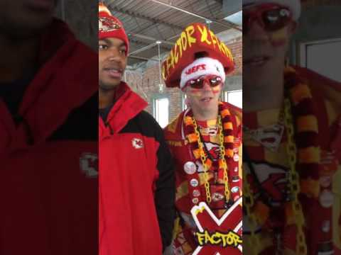 Kansas City Chiefs Superfan XFactor and Derrick Thomas