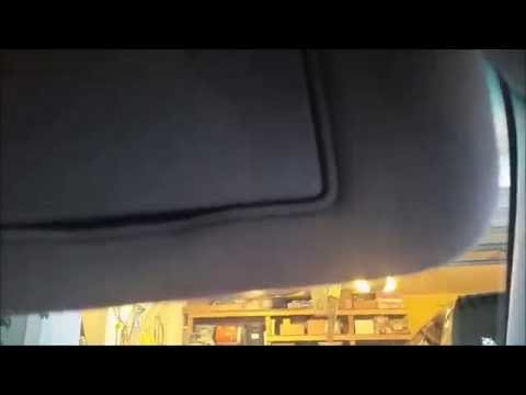 How To Fix A Floppy Sun Visor That Does Not Stay In Place On Your Car For Less Than 25 Cents!