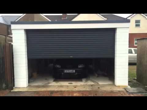 Auto Roll Electric Garage Door