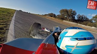 Driving a Formula 3 Race Car At Ascari