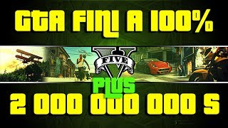 GTA 5 | Tutoriel le mode solo fini a 100% + 2 000 000 000 de dollars | xbox 360 / PS3