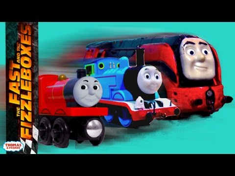Fast and the Fizzleboxes Compilation + BONUS Scenes | Fast and the Fizzleboxes | Thomas & Friends