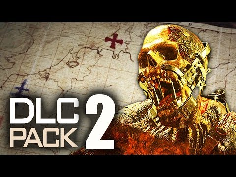 WW2 ZOMBIES DLC 2: MAP LOCATIONS, CHARACTERS & IN-GAME TEASERS! (Call of Duty WW2 Zombies)