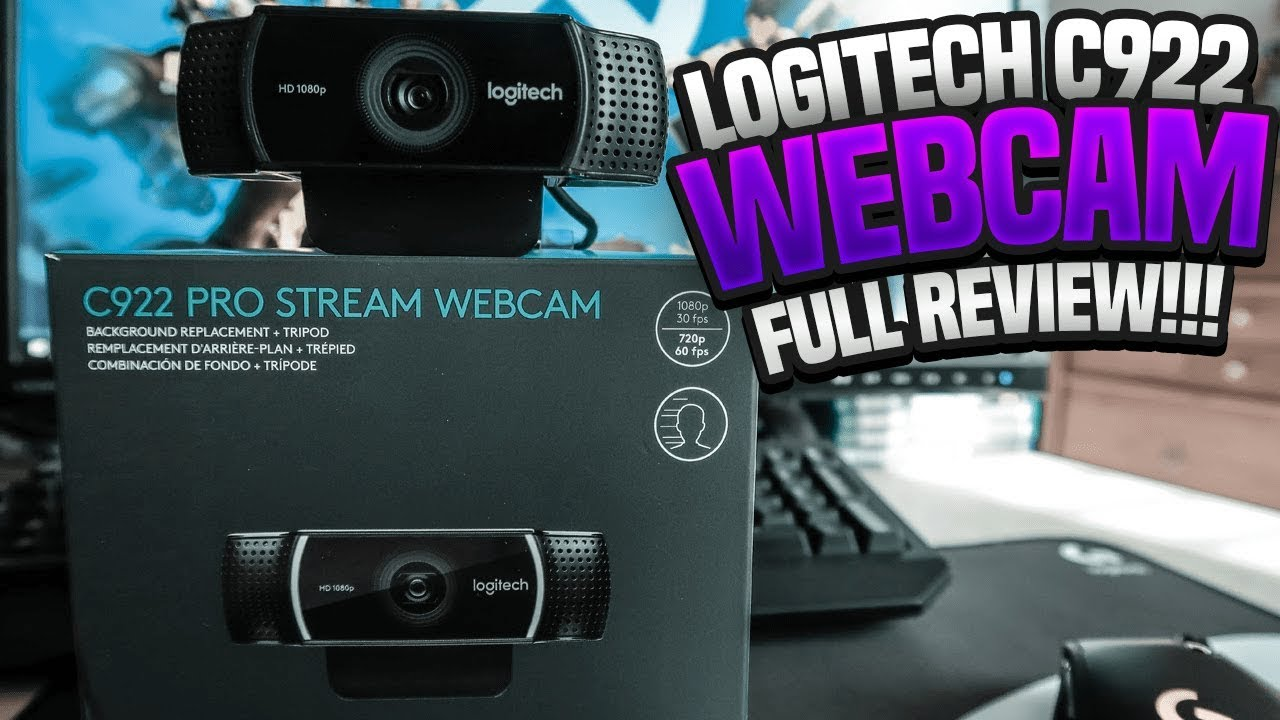 logitech c922 review - the best pro webcam for streaming! - youtube