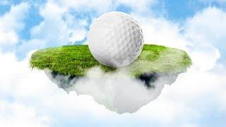 ПРОИГРАЛ ЖЕЛАНИЕ - НАДЕЛ ПЛАТЬЕ И РОЛИКИ В ГОРОДЕ! (Golf it)