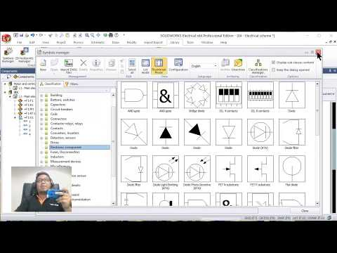 SolidWorks Electrical 2018 Live Demo