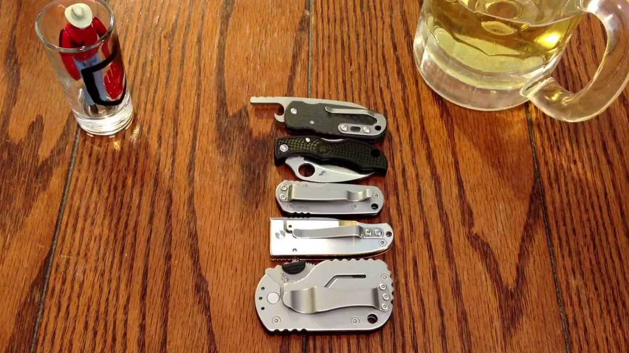 Micro Knives Secondary Edc Blades Youtube