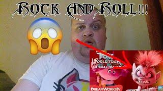 Trolls World Tour Official Movie Trailer REACTION!!!