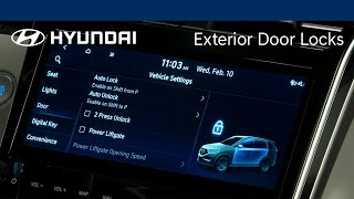 Exterior Door Locks | Hyundai