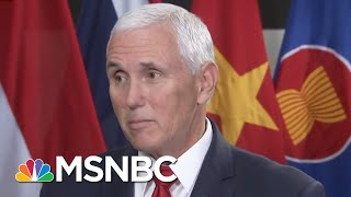 Blue Wave Continues, But Mike Pence Denies Seeing It | Morning Joe | MSNBC