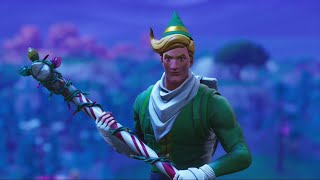 The Best Fortnite Code Name Elf Combo!