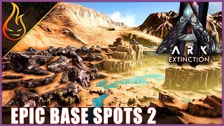 ARK Survival Evolved Extinction DLC Amazing Base Locations Desert Biome Edition