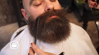 How To Trim Your Beard to Make Your Face Look Thinner | Cut and Grind