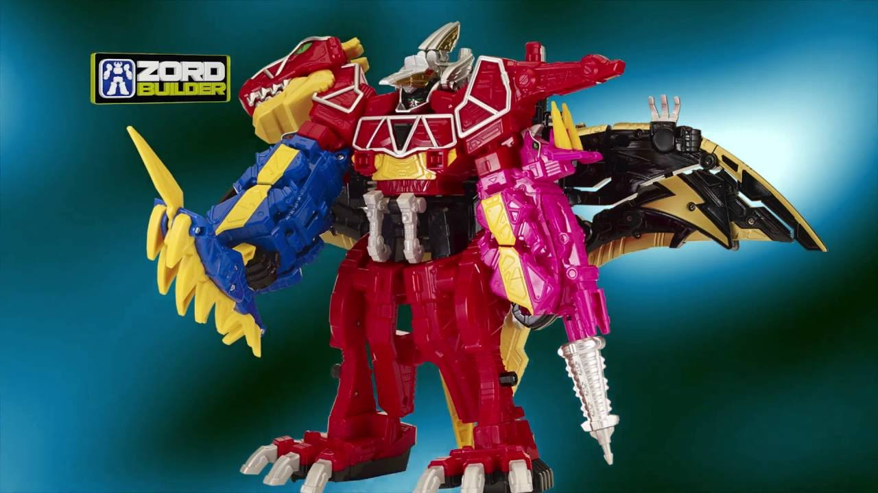 Jouets Power Rangers Dino Charge De Bandai Youtube