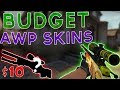 Top 5 BEST CHEAP BUDGET AWP SKINS (2019)