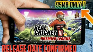 Real cricket 18 new update release date confirmed🔥