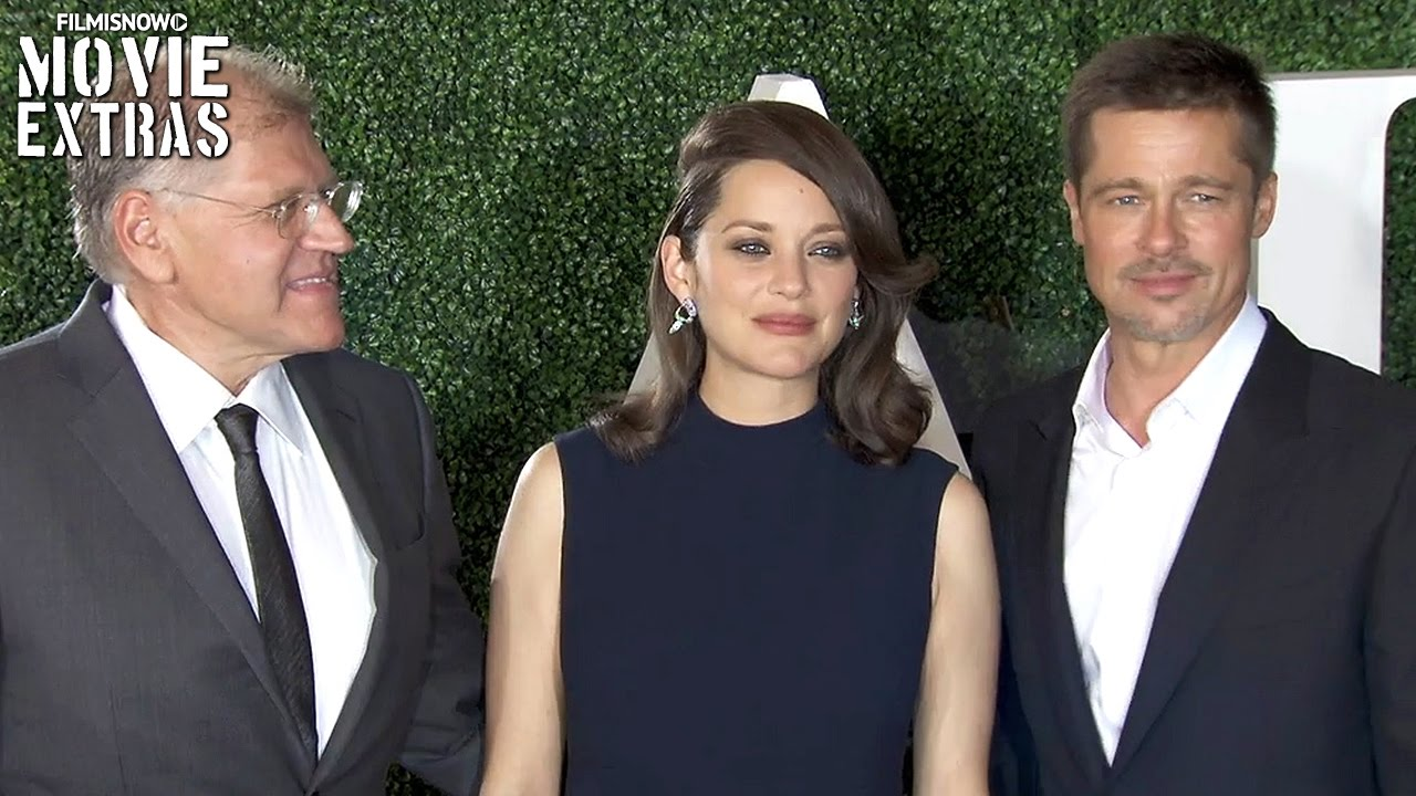 Allied Los Angeles Red Carpet Event With Brad Pitt Marion