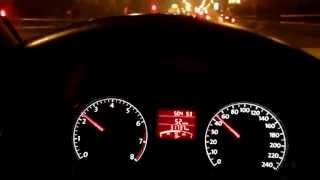 Volkswagen Polo 1.6 AT Acceleration 0-100 km/h