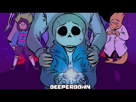 Deeper Down Part 1【 Undertale Comic Dub 】