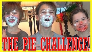 THE PIE CHALLENGE!  WITH SHOPKINS!  |  KITTIESMAMA