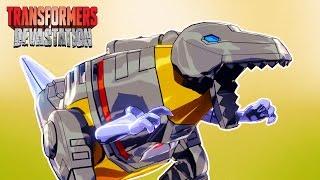 ТРАНСФОРМЕРЫ #9 СРАЖЕНИЯ Роботов АВТОБОТОВ Игровой Мультфильм для детей Transformers Devastation