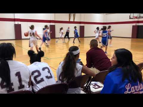 ELGIN VS LARKIN FRESHMEN GIRLS BASKETBALL DEC 4, 2017 SABRINA MOSKOW #14