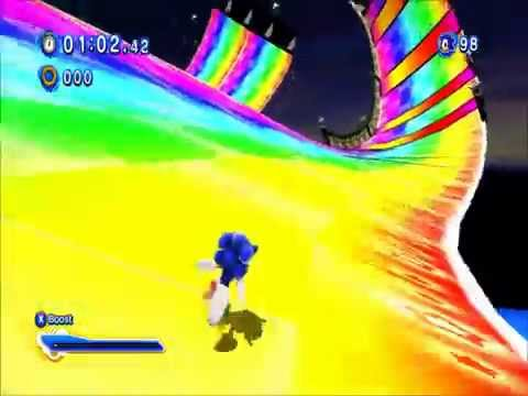 Sonic Generations - Rainbow Road Release