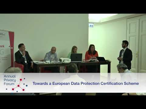 "APF2017 Panel discussion ""Towards a European Data Protection Certification Framework"""